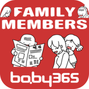 麦粒认知绘本-家庭成员-baby365