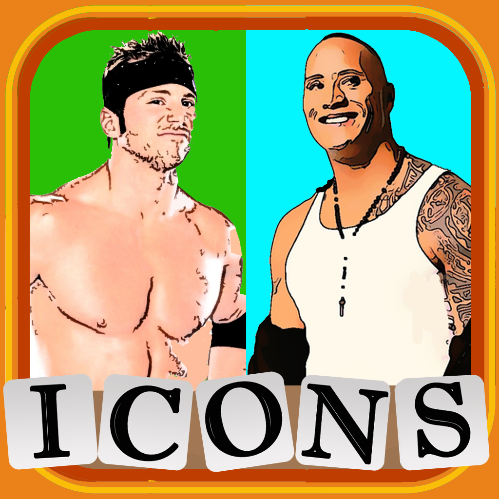 Icons of Wrestling Word Challenge
